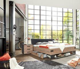 bett-180-doppelbett-bettanlage-3-tlg-stockholm-nachtkommoden-grau-braun-tanne1