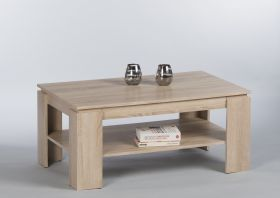 Couchtisch Harrison Beistelltisch Wohnzimmertisch Tisch in Eiche Sonoma1