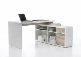 Eckschreibtisch TOKYO Büromöbel Schreibtisch Winkelschreibtisch Sideboard1