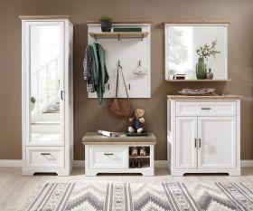 garderobe-set-jasmin-5-tlg-hochschrank-paneel-spiegel-kommode-bank-landhaus-weiss1
