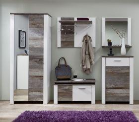 garderobe-set-mateo1-5-tlg-schrank-paneel-spiegel-kommode-bank-weiss-driftwood1