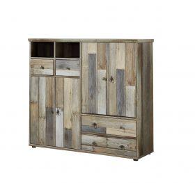 Kommode BONANZA Sideboard Kombikommode Wohnzimmer Schlafzimmer Flur Driftwood1