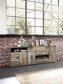 Kommode Sideboard groß BONANZA Esszimmer shabby vintage retro1