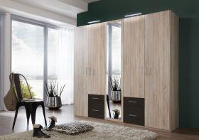 schrank-5-tueren-drehtuerenschrank-kleiderschrank-schlafzimmer-spiegel-eiche-grau1