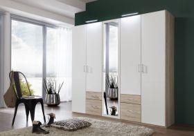 schrank-5-tueren-drehtuerenschrank-kleiderschrank-schlafzimmer-spiegel-weiss-eiche1
