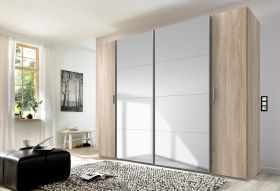 schrank-schwebetuerenschrank-kleiderschrank-schlafzimmer-spiegel-braun-eiche-saege1