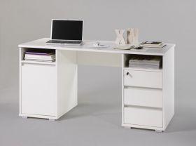 Schreibtisch  PRIMUS 2 Computertisch PC-Tisch Homeoffice Tisch Büro Weiß1