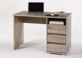 Schreibtisch PRIMUS PC Tisch Computertisch Home-Office Büro Eiche Sonoma1