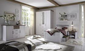 Senioren Schlafzimmer Komplett Set 4 Teile LUCA K Komfort Seniorenzimmer Pinie1