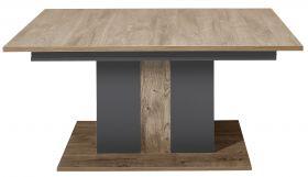 Tisch Esstisch MEDIANA Esszimmertisch Dinnertisch Küchentisch Eiche grau1