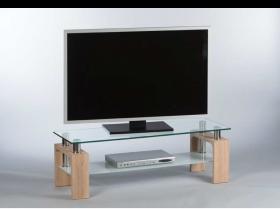 TV Lowboard MANGO TV Rack Fernsehtisch Eiche Sonoma1