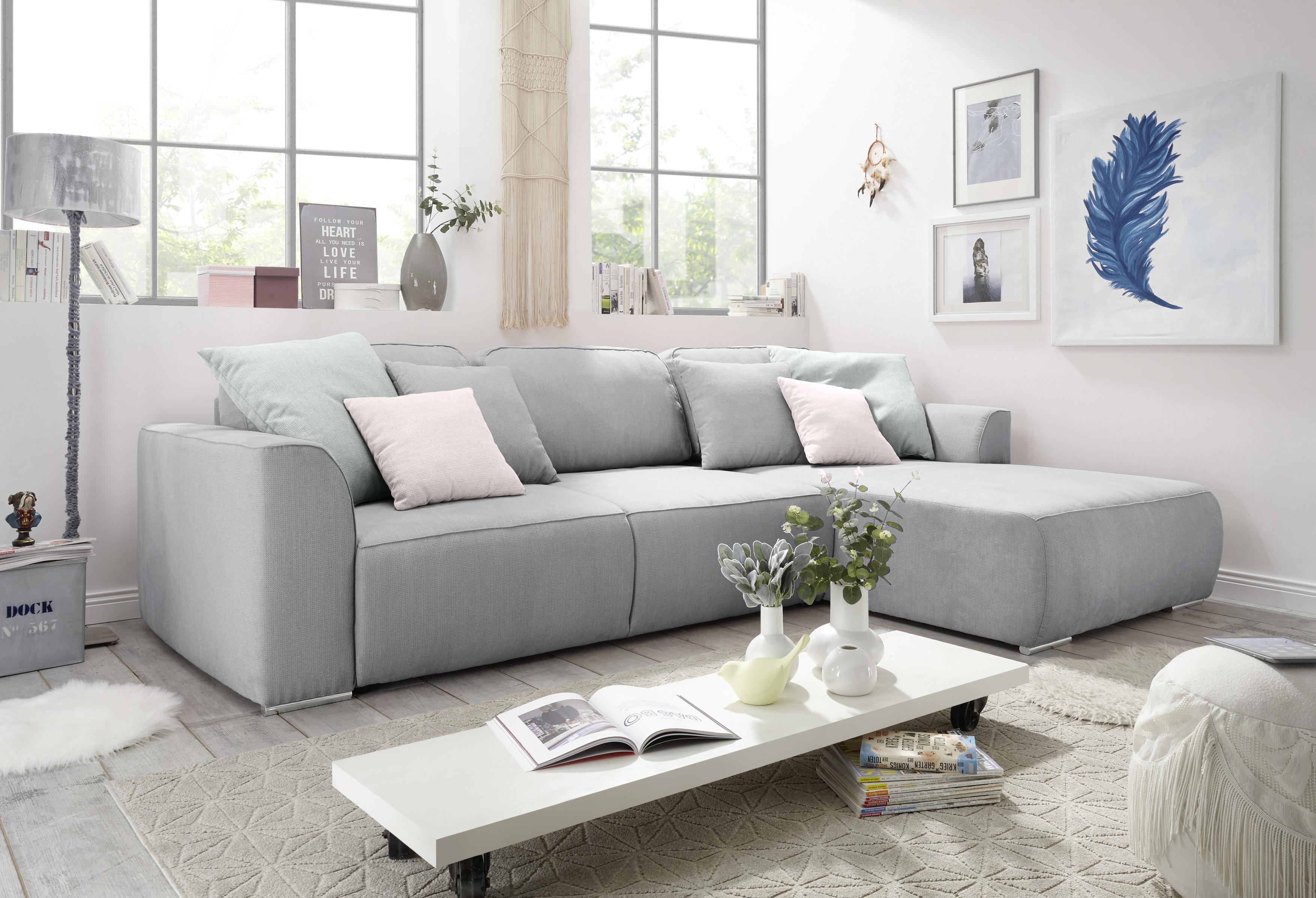 Ecksofa Lazy Couch Schlafcouch Schlafsofa Funktionssofa Ausziehbar Grau L Form Ebay