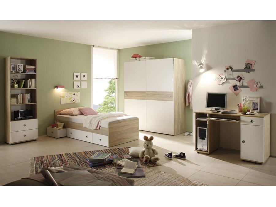 Jugendzimmer-Set Komplett Set WIKI Schreibtisch Jugendbett