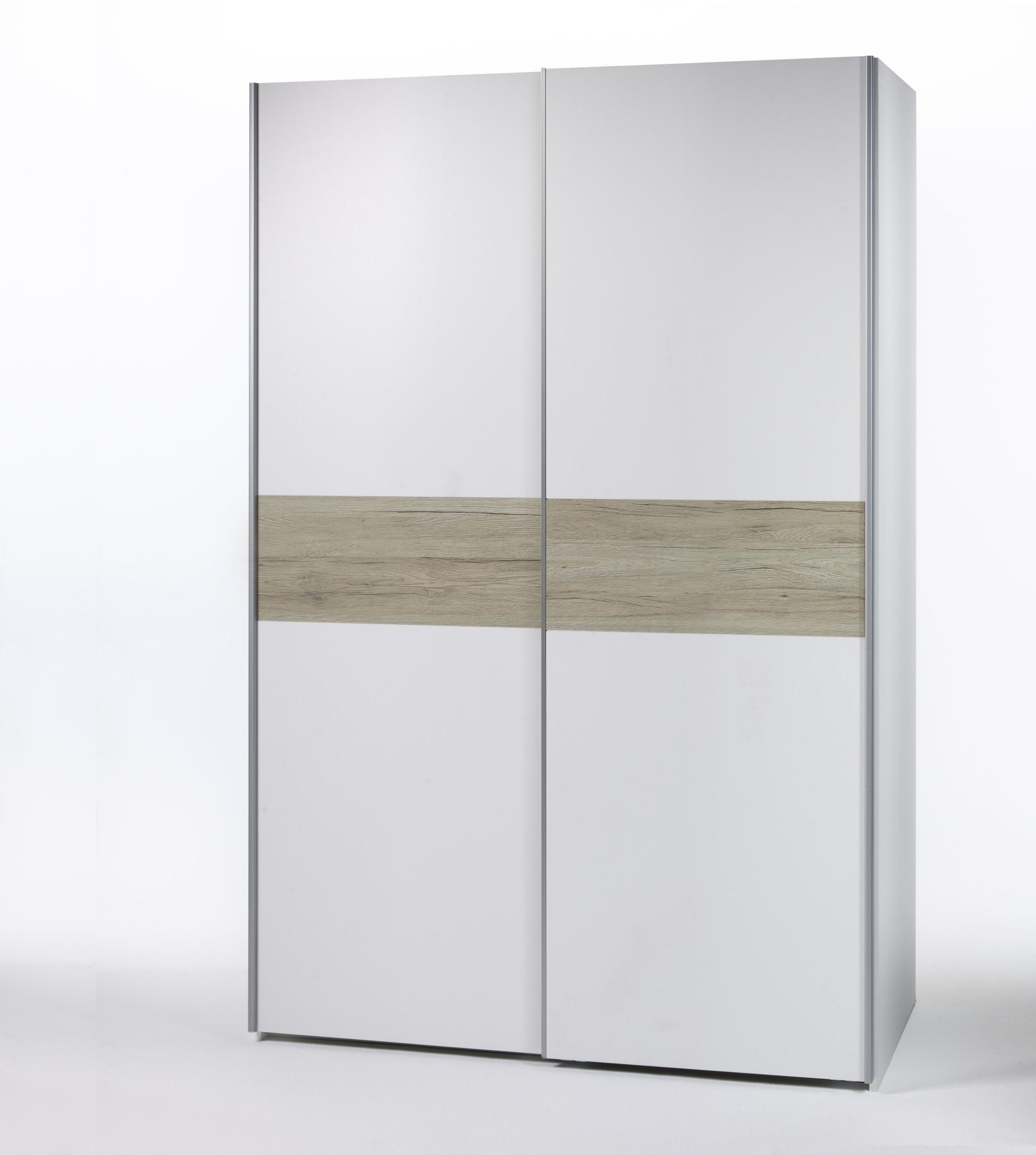 schwebet renschrank victor 1 kleiderschrank schrank wei mit bauchbinde san remo ebay. Black Bedroom Furniture Sets. Home Design Ideas