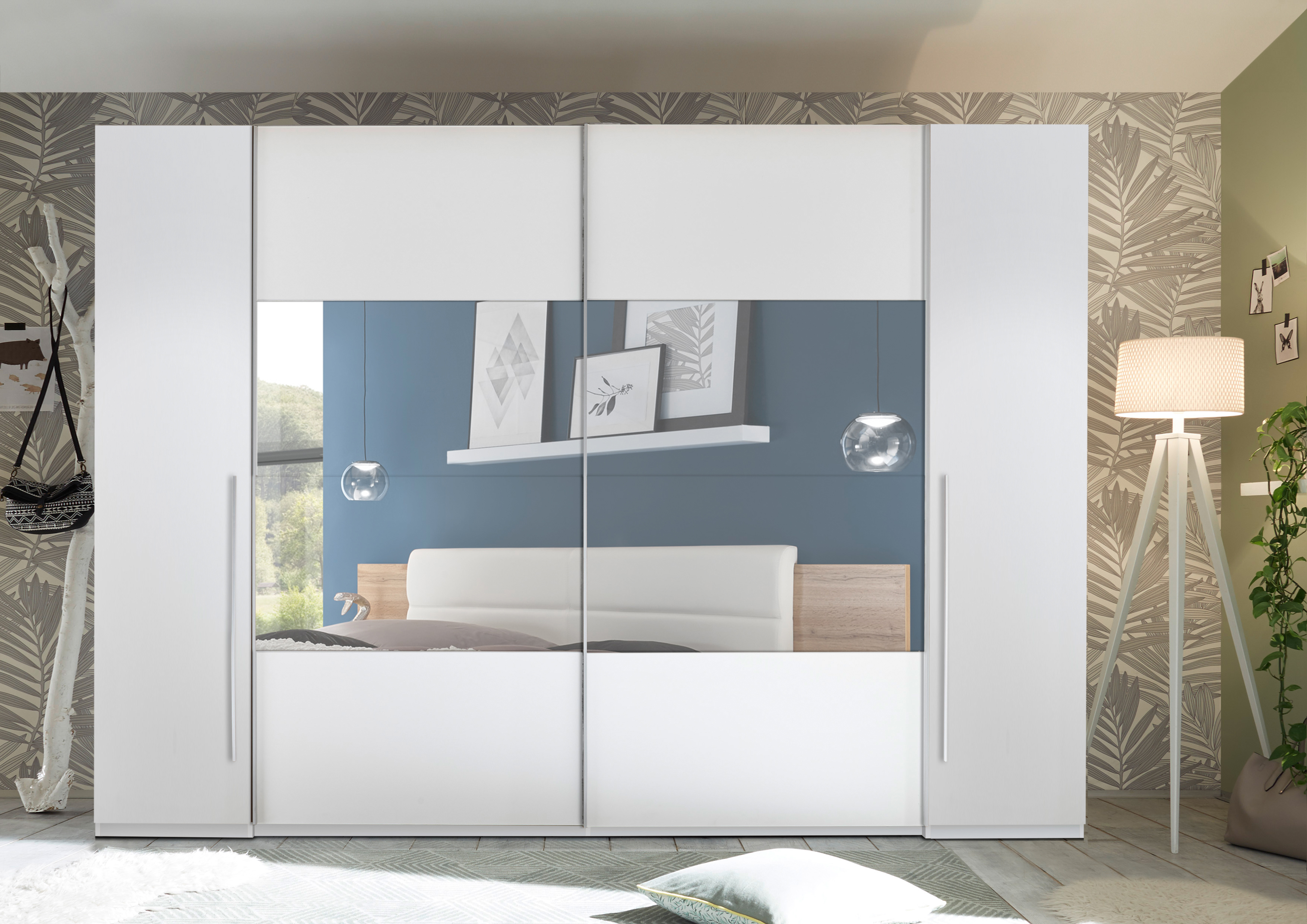 schwebet renschrank mega schiebet ren schrank. Black Bedroom Furniture Sets. Home Design Ideas