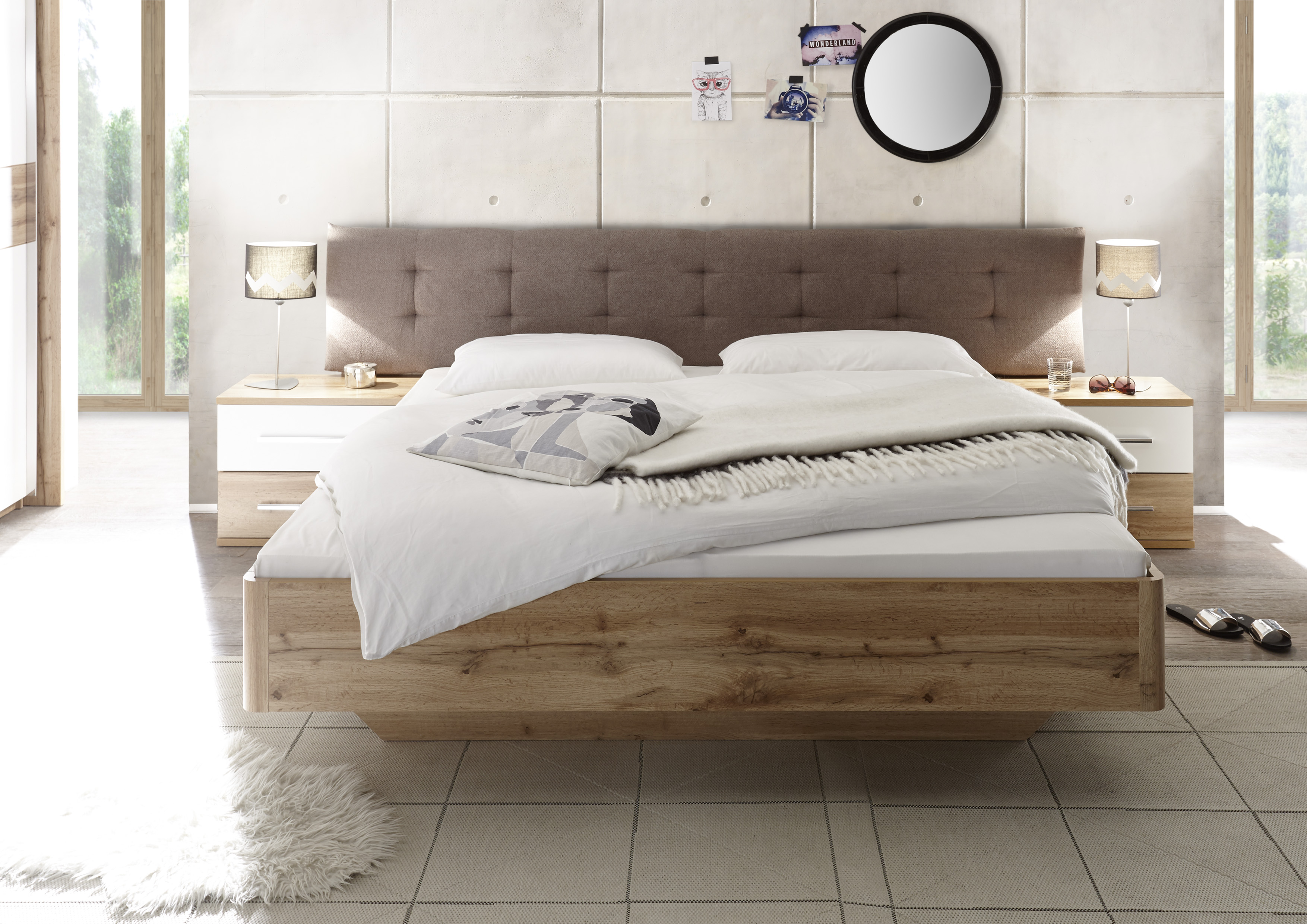 Schlafzimmer Komplett Set 5 Tlg Bergamo Bett 180: Schlafzimmer Komplett Set 4-tlg. BERGAMO Bett 180