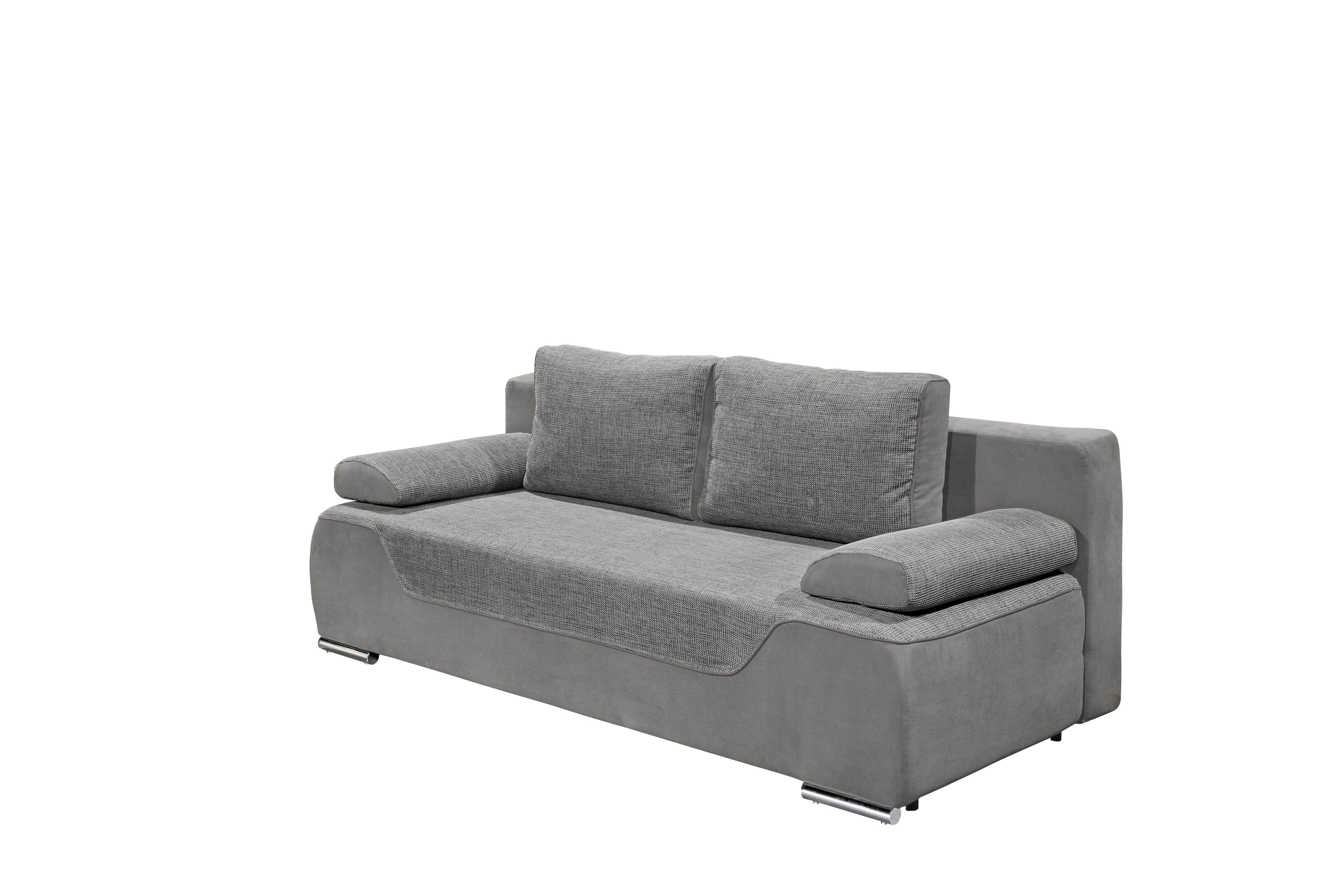 Remarkable Details Zu Couch Schlafsofa Sofabett Funktionssofa Ausziehbar Grau 200 Cm Interior Design Ideas Greaswefileorg