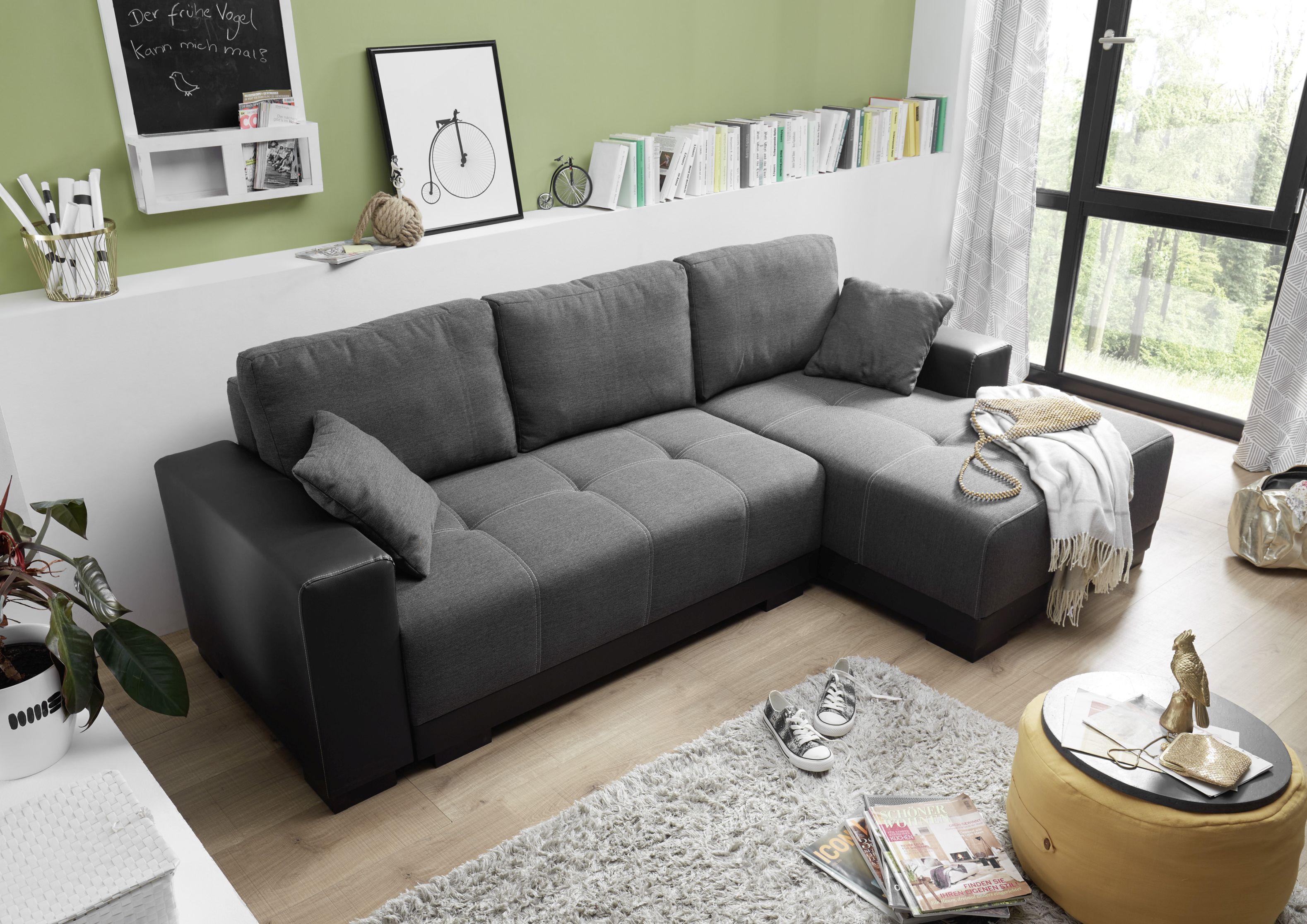 couch schlafsofa sofabett funktionssofa ausziehbar. Black Bedroom Furniture Sets. Home Design Ideas