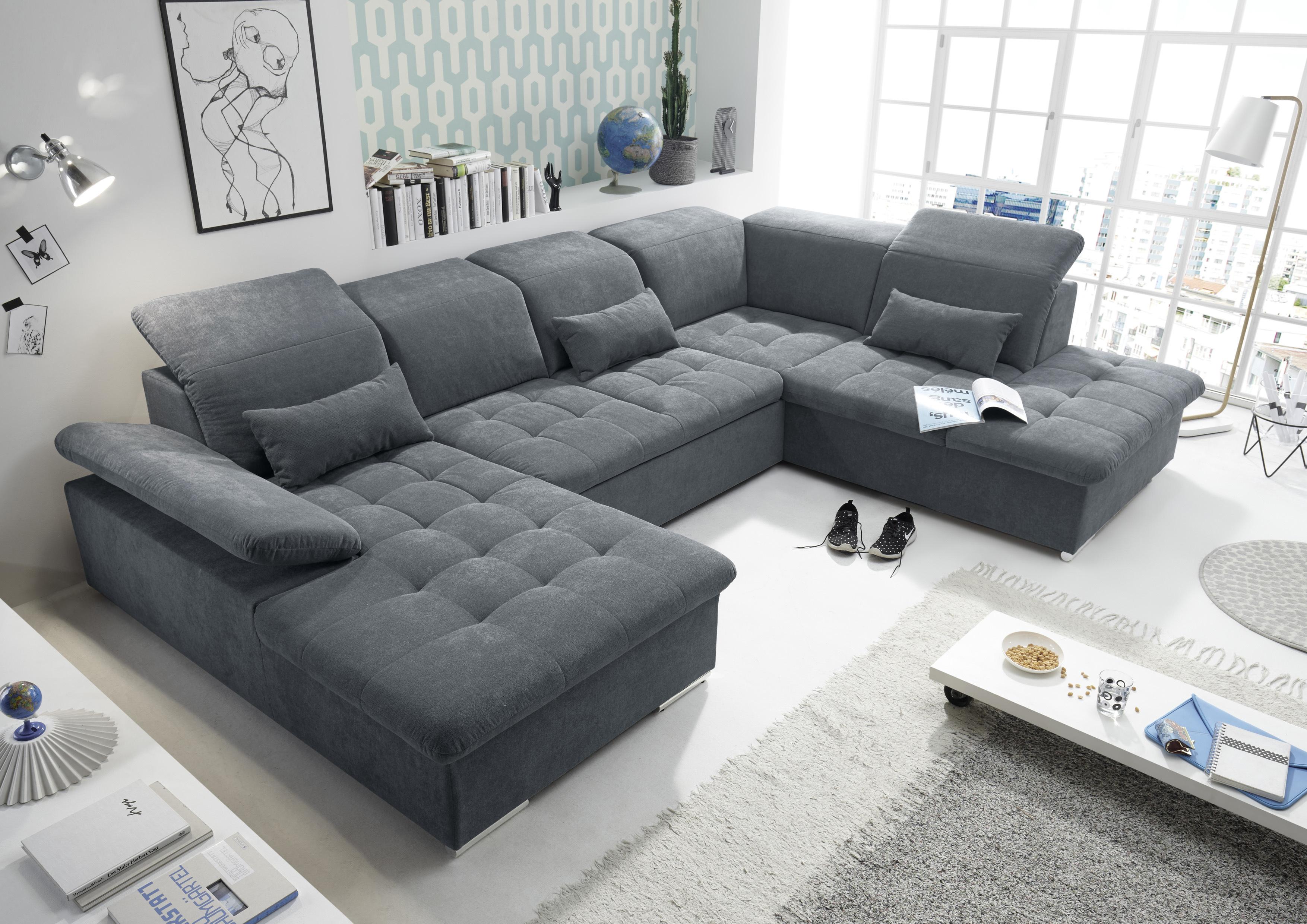 Couch Wayne R Sofa Schlafcouch Wohnlandschaft Schlaffunktion