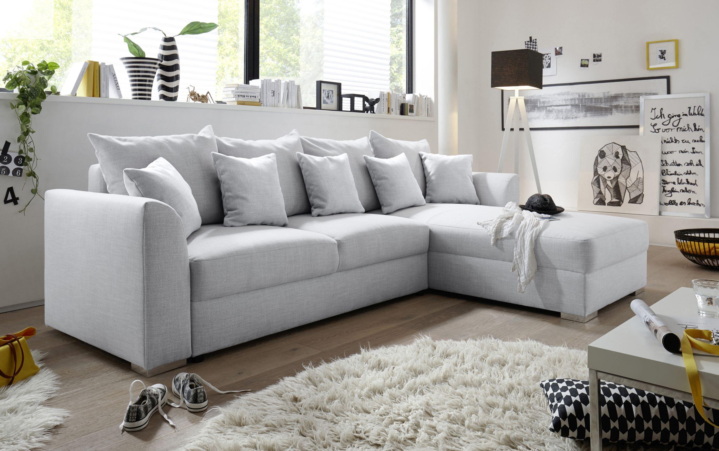 Couch Sofa Eckcouch Ecksofa Schlafsofa Schlafcouch Wohnlandschaft