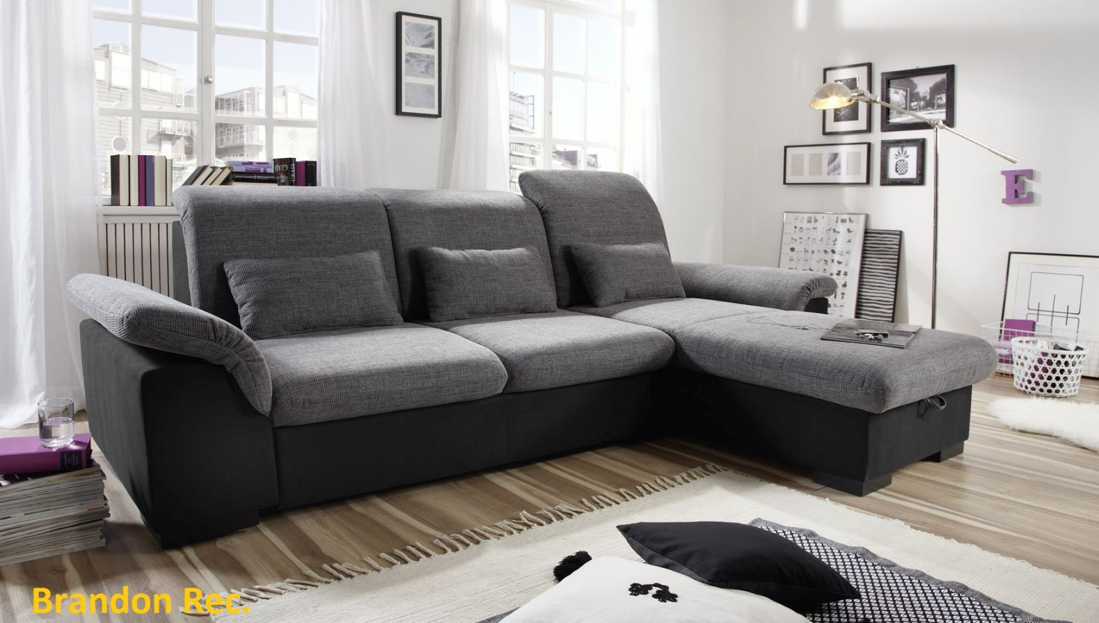 ecksofa couch schlafsofa sofabett funktionssofa ausziehbar. Black Bedroom Furniture Sets. Home Design Ideas