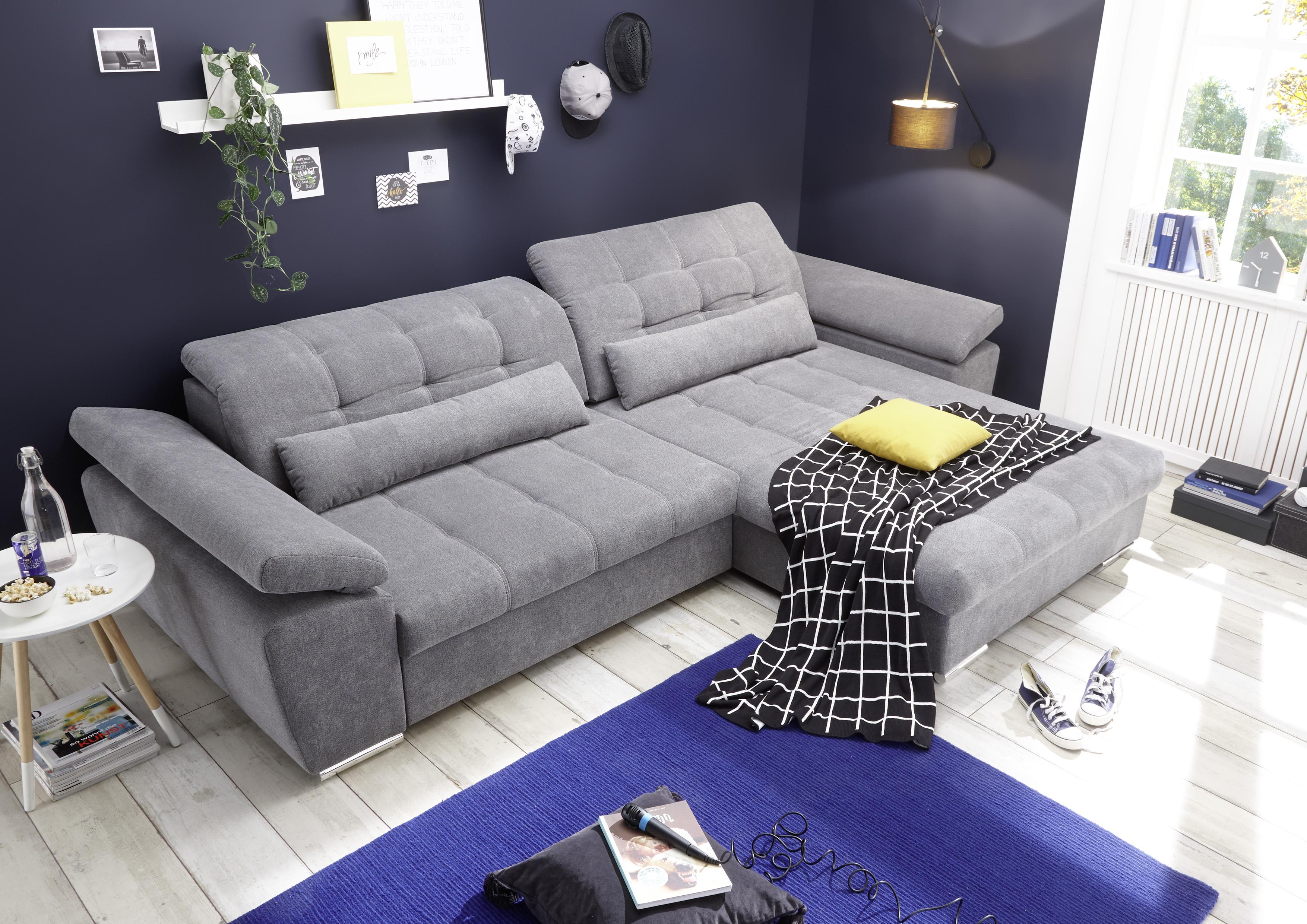 Ecksofa Couch Kauai Casa Schlafcouch Schlafsofa