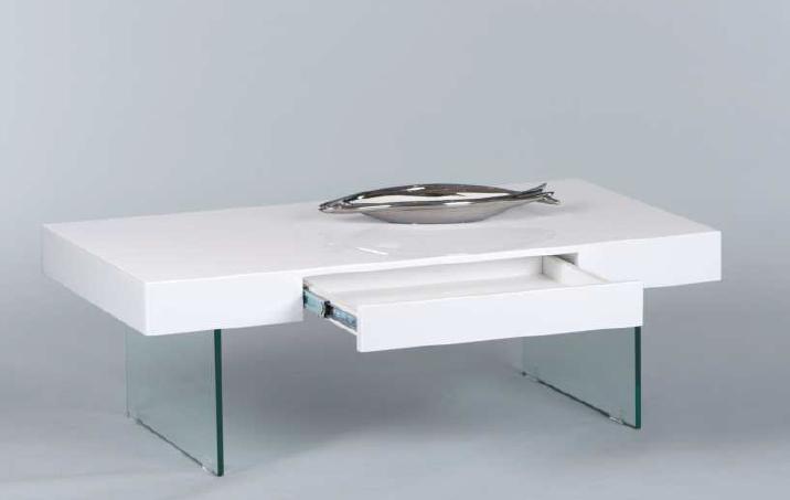 couchtisch daisy beistelltisch wohnzimmertisch tisch in weiss hochglanz ebay. Black Bedroom Furniture Sets. Home Design Ideas