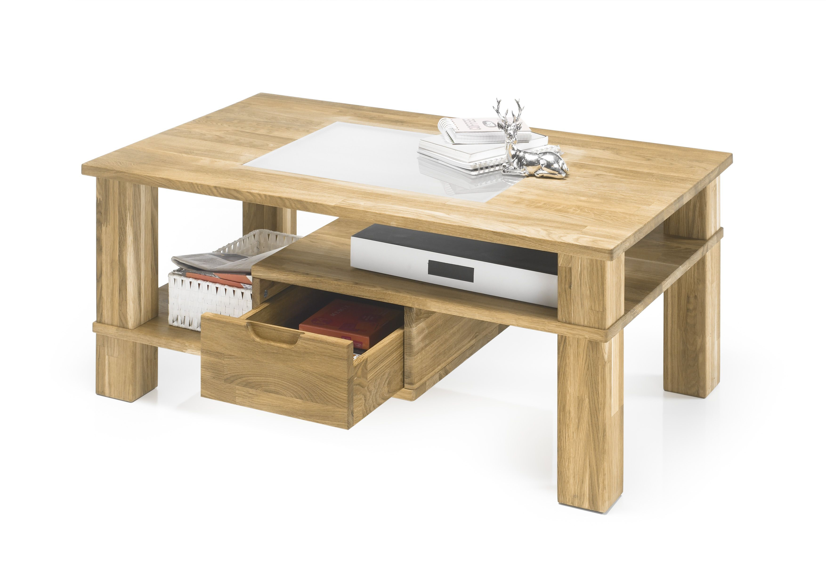 couchtisch hamilton beistelltisch wohnzimmertisch tisch eiche massiv ge lt ebay. Black Bedroom Furniture Sets. Home Design Ideas