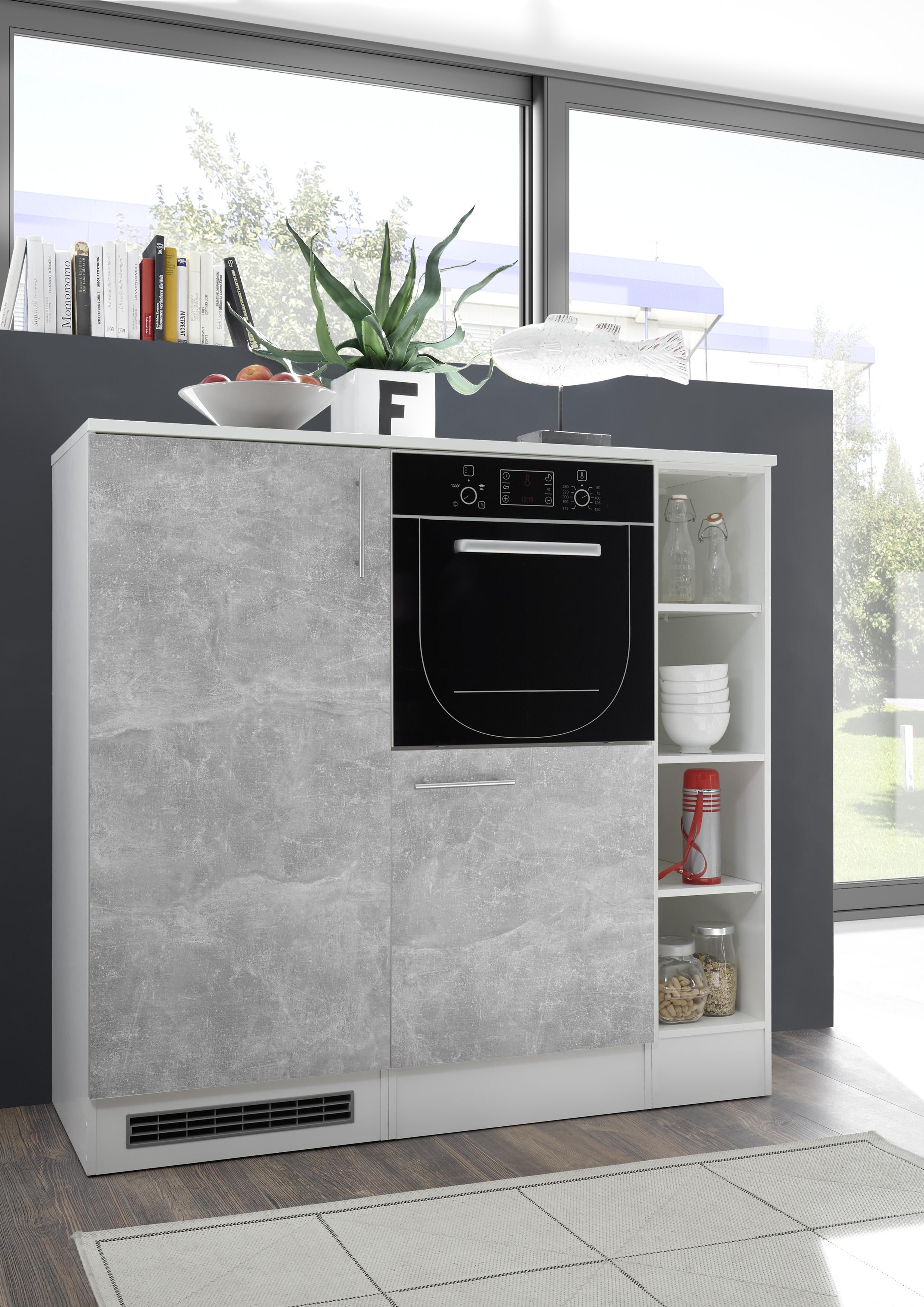 k che k chenblock k chenzeile 260cm einbauk che minik che singlek che grau opt ebay. Black Bedroom Furniture Sets. Home Design Ideas