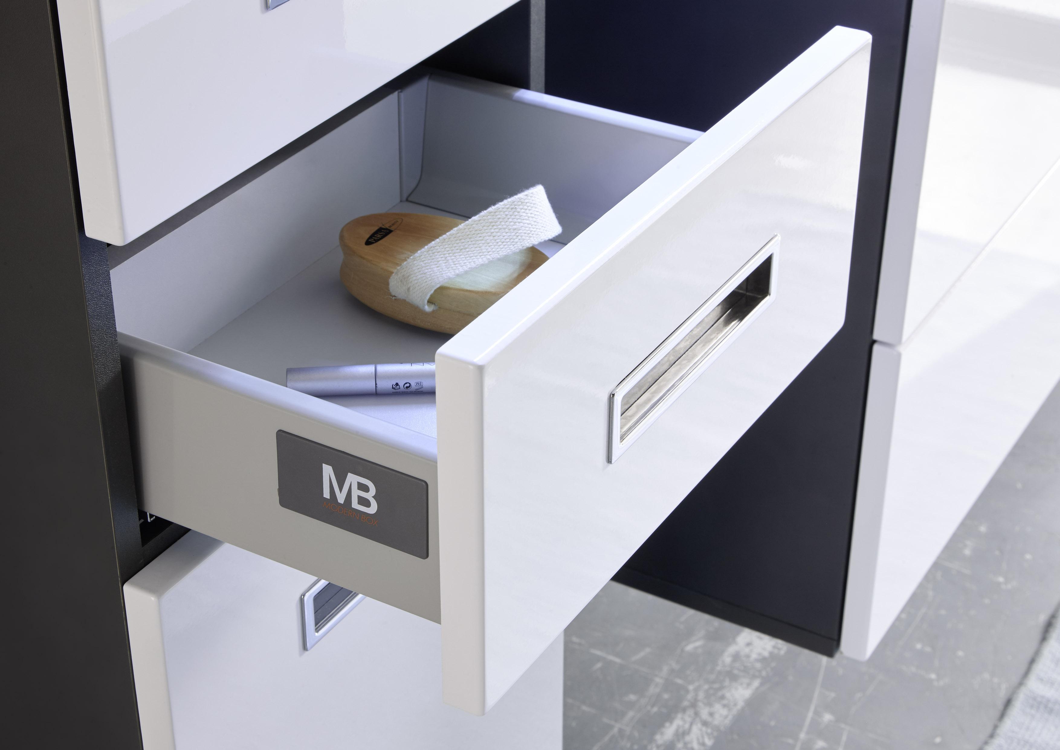 badezimmer set manhattan 5 tlg badezimmer badm bel badezimmerm bel wei grau ebay. Black Bedroom Furniture Sets. Home Design Ideas