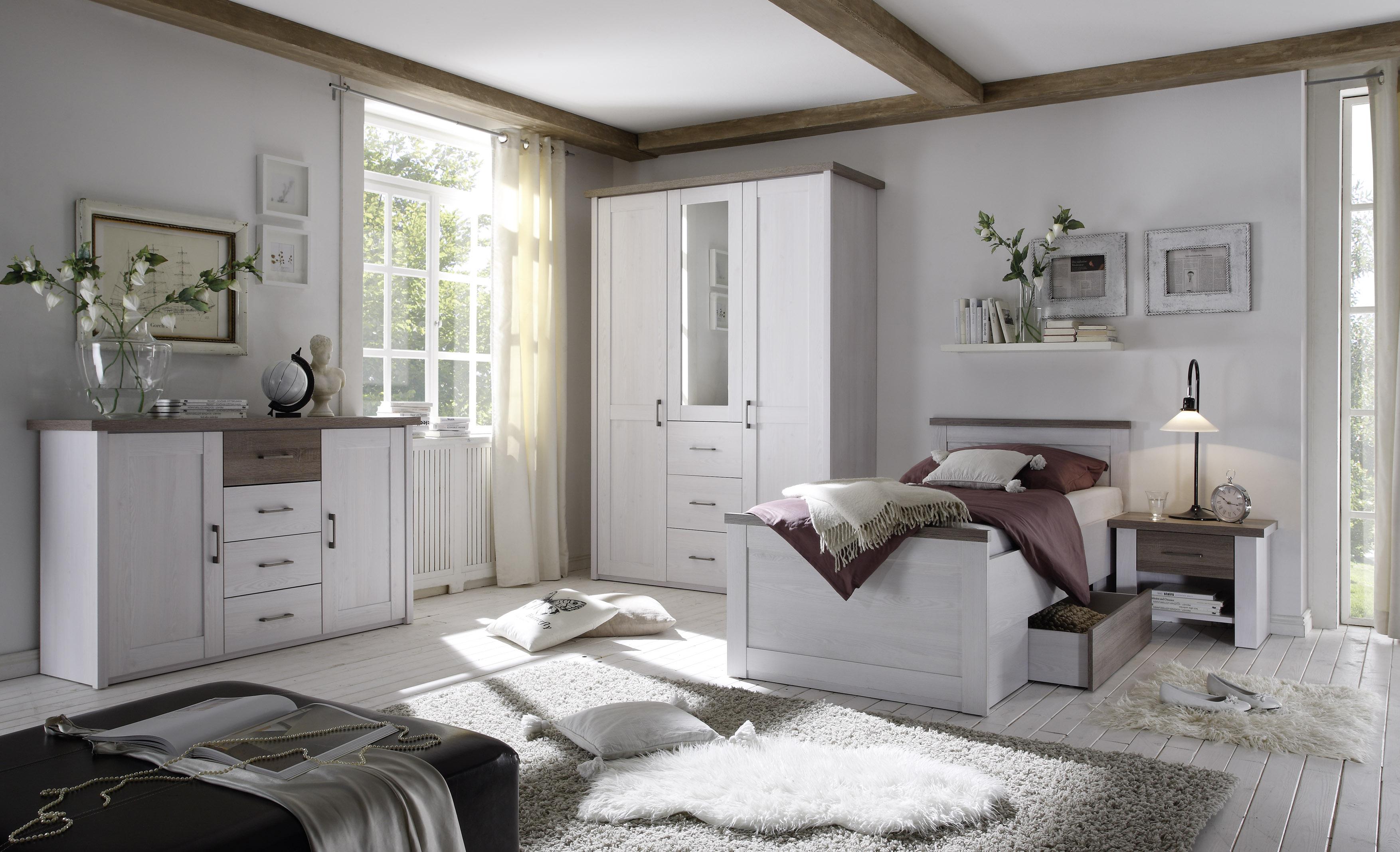 Details zu Senioren Schlafzimmer Komplett Set 4 Teile \
